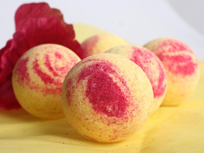 Необычные бурлящие шарики для ванн от производителя: Бурлящие шарики «Мадмуазель» с пеной 130 г