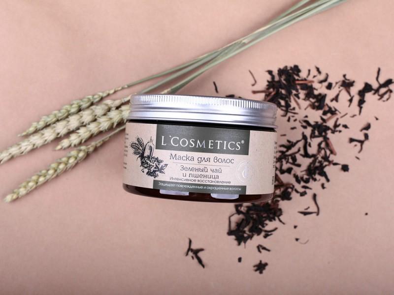 Маска для  волос Classic «Зеленый чай и пшеница» - Интенсивное восстановление (Защищает поврежденные и окрашенные волосы) 250 мл